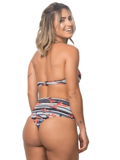 Biquíni Hot Pant Estampa Ipanema