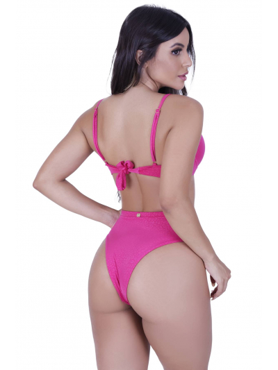Biquíni Top Aro Hot Pant Rosa